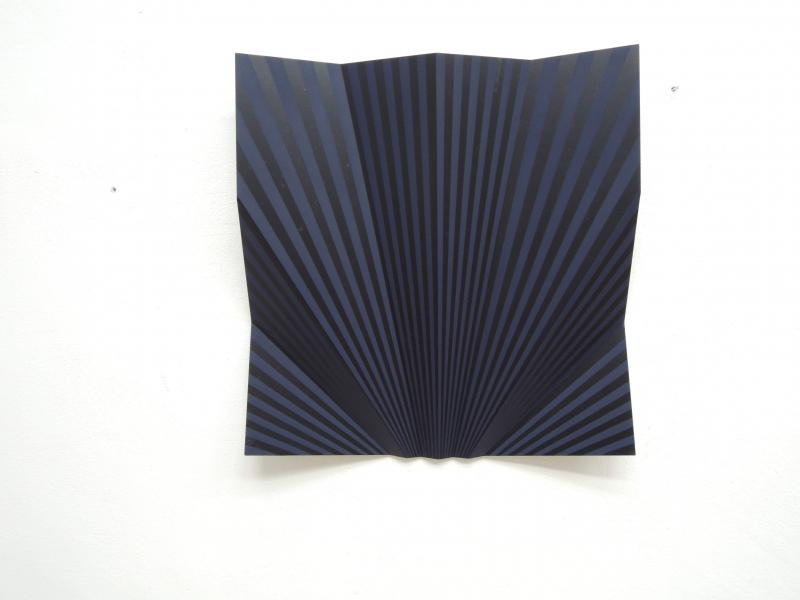 "Edgar Diehl, 19/2015, ""JUPITER LIV"",70x70cm,Acylic on Aluminum"