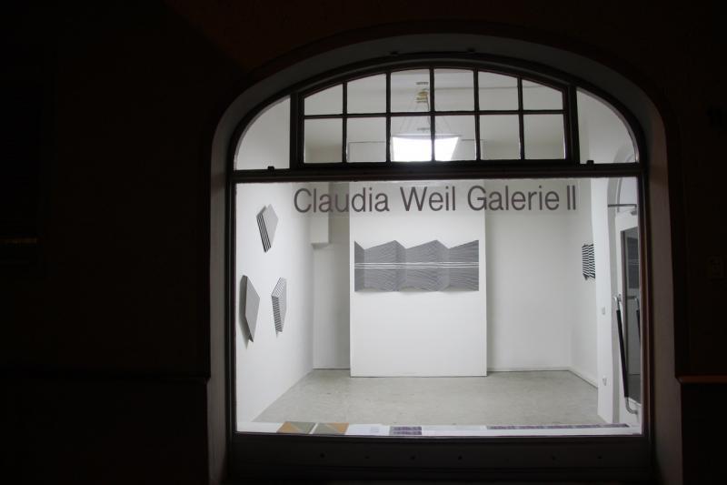 """NEW OPTICS "", Claudia Weiil Galerie , Edgar Diehl. Perceptual  Art, Op Art"