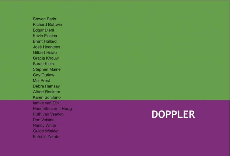 """Ausstellung """"DOPPLER"""",Parallel Art Apace, New York, 21. Künstler + Edgar Diehl"""