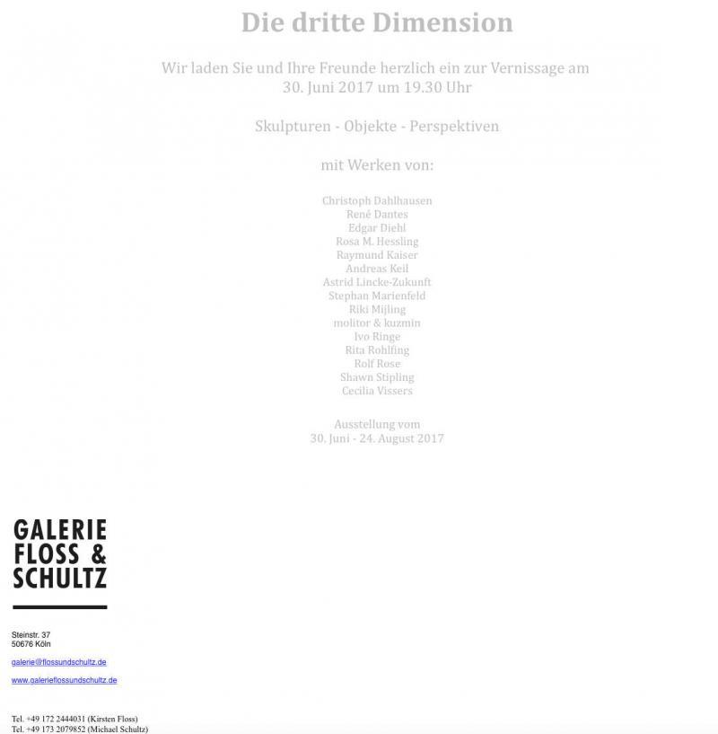Galerie Floss& Schulz, Köln