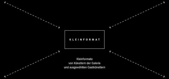 """KLEINFORMAT"", Galerie Mariette Haas, Ingolstadt,"
