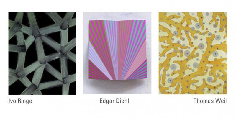"""Edgar Diehl, """"Es geht nicht um Gelb"""", Galerie Trampler, München"""