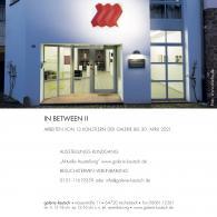 """""""IN BETWEEN II"""", Galerie Kautsch, Michelstadt, Gemany"""