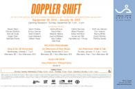 Ausstellung DOPPLER SHIFT im Visual Arts Center of new Jersey. USA