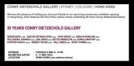 "3 -11  May 2014, ""25 YEARS CONNY DIETZSCHOLD GALLERY"", HONG KONG"