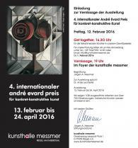 My third nomination for 4th International André Evard Reward