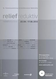 """Kurfilm der Ausstellung """"reliefeduktiv"""" im Künstlerverein Walkmühle"""