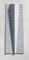 """4/16 """"STRAND I"""", 65x24x4cm, Acrylic/ Alumiumtin"""