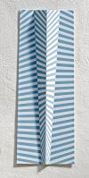 "8/16""STRAND III"", 65x25x5cm, Acrylic/ Alumiumtin"